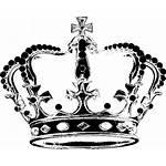 Crown Clipart Drawing Corona Crowns Feminine Clip