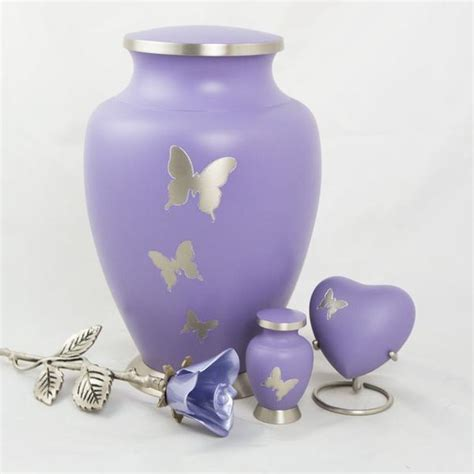 aria butterfly cremation urn large oneworld memorials