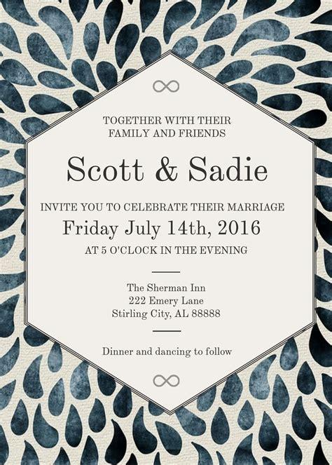 3 Free Wedding Invitation Templates & Examples Lucidpress