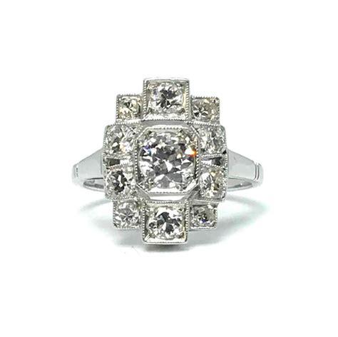 art deco diamond ring 1920 s jewellery discovery