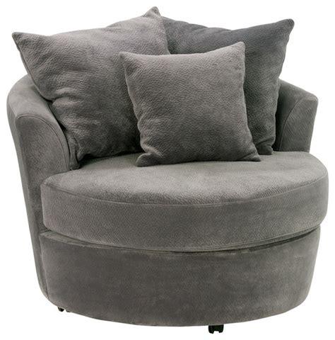 chapparral cuddler swivel chair