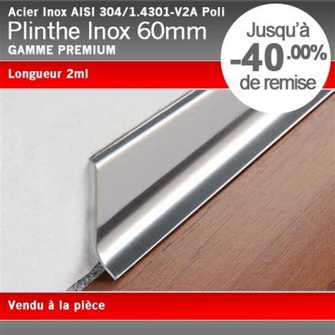 plinthe de cuisine inox plinthe acier inox poli 60mm plinthe alu com