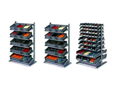 scaffali di plastica scaffali porta cassette e contenitori plastica
