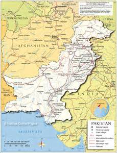 Pakistan Map - Map of Pakistan & Islamabad Pakistan