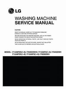 Lg F14a8fds  F14a8fdsa Service Manual  U2014 View Online Or