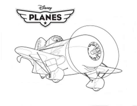 Ausmalbilder Kostenlos Planes Disney 4