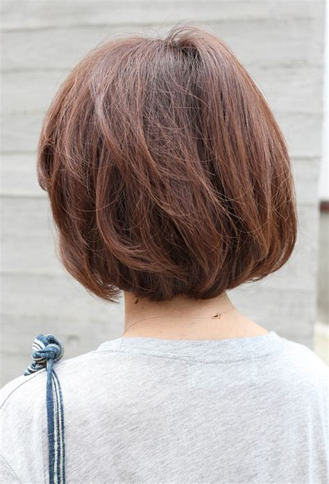view short brown bob hairstyle hairstyles weekly