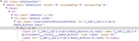 Div Flow - how to align flow radio checkboxes horizontally the