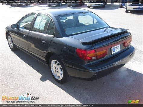 2001 Saturn S Series SL2 Sedan Black / Gray Photo #3 ...