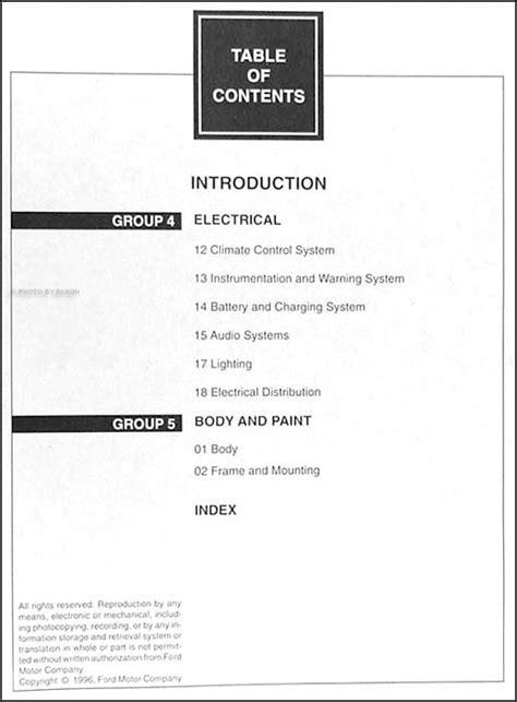 manual repair autos 1997 ford club wagon electronic throttle control 1997 ford econoline van club wagon repair shop manual set original