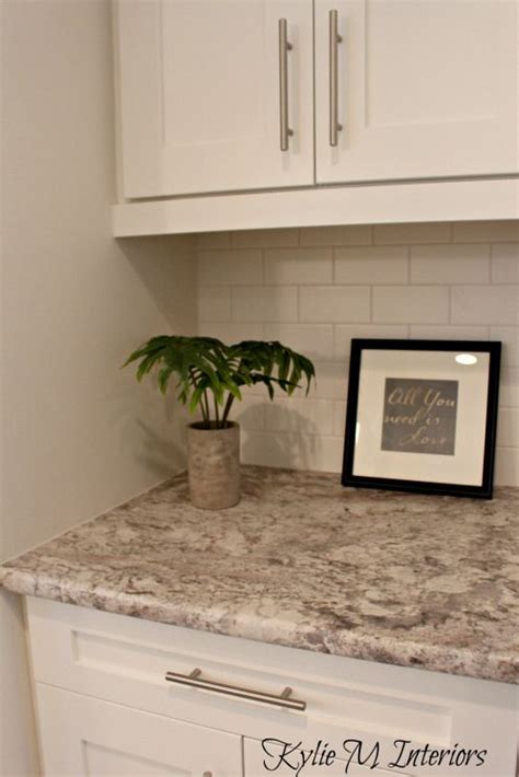 what color countertops go with white cabinets the new era of laminate countertops and why they rock