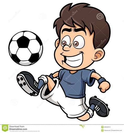 Soccer Player Stock Vector Illustration Of Team Sport