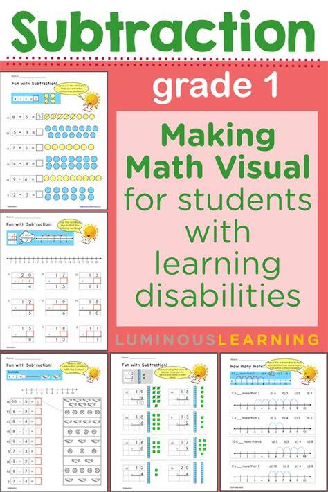 math worksheets for learning disabled students worksheet