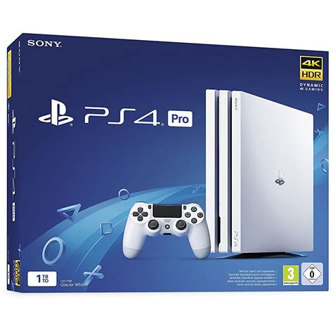 Ps 4 Console by Sony Playstation 4 Pro 1 To Blanc Console Ps4 Sony