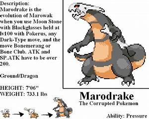 Image Gallery marowak evolution
