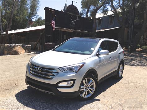 hyundai santa fe 2 0l turbo review caradvice