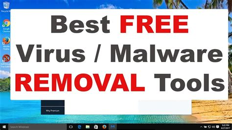 Best Free Malware  Virus Removal Tools 2017 Youtube