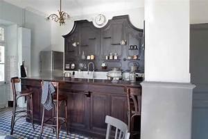 Quelle Couleur De Mur Avec Des Meubles En Chene : 11 couleurs cuisine avec une peinture murale tendance ~ Nature-et-papiers.com Idées de Décoration