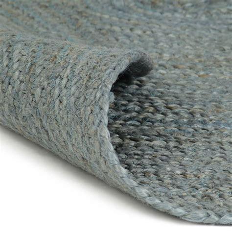 teppich rund 120 cm teppich handgefertigt jute rund 120 cm olivgr 252 n teppiche dekoration preisvogel