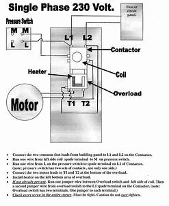 Electric Motor Wiring Diagram Single Phase