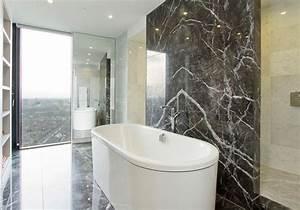 Marbre Salle De Bain : salle de bain en marbre deco maison moderne ~ Dailycaller-alerts.com Idées de Décoration