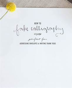 blog how to fake calligraphy With fake calligraphy wedding invitations
