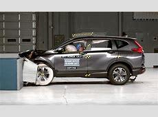 2017 Honda CRV nabs Top Safety Pick+ award