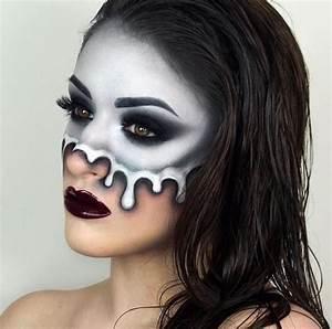 Make Up Ideen : die besten 25 halloween make up ideen auf pinterest ~ Buech-reservation.com Haus und Dekorationen