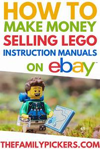 Lego Instruction Manuals  What To Sell On Ebay