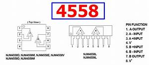 4558 Datasheet - Dual Operational Amplifier