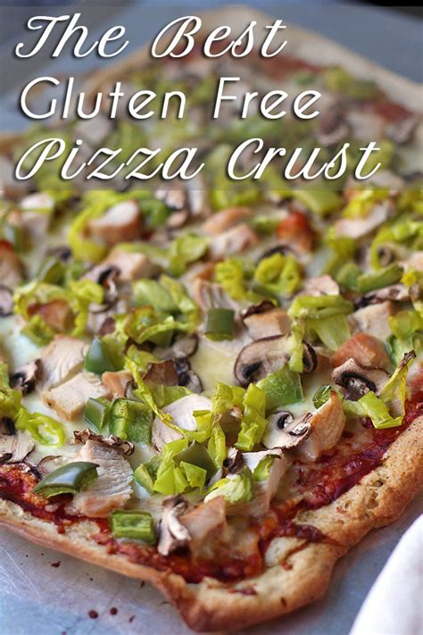 The Best Gluten Free Pizza Crust  Easy Gluten Free Pizza