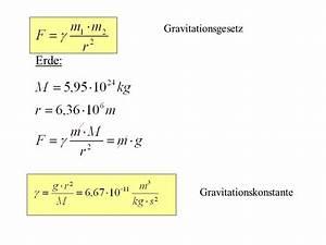 Erdanziehungskraft Berechnen : mechanik mathematische grundlagen und begriffe formel funktion ppt video online herunterladen ~ Themetempest.com Abrechnung