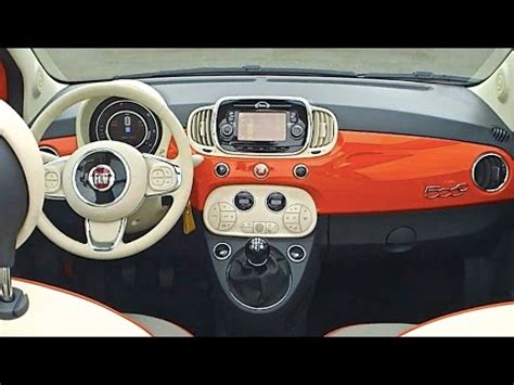 2016 Fiat 500 Interior Options All New Fiat 500 2015 Tv