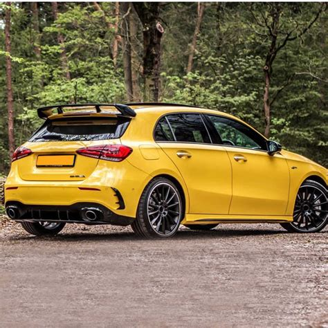 It rides and drives well, and it hosts exceedingly clever technology features. For Mercedes Benz W177 Hatchback A Class A180 A200 A250 A260 & A45 AMG 2019 2020 ABS Plastic ...