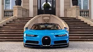 2017 Bugatti Chiron Geneva Auto Show 2016 Wallpapers HD