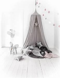 Numero 74 Ciel De Lit : leo bella numero 74 cotton canopy silver grey ~ Zukunftsfamilie.com Idées de Décoration