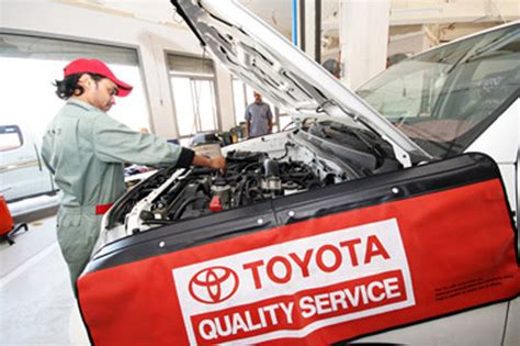 toyota   year maintenance     toyota