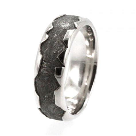 cool mens wedding rings awesome mens wood ring with