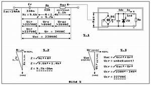 Kondensatornetzteil Berechnen : kondensatornetzteil kondensator netzteil kondensator statt trafo x2 kondensator y2 ~ Themetempest.com Abrechnung