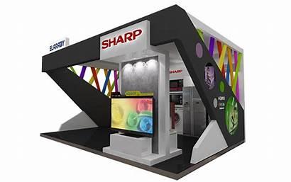 Behance Sharp Booth Exhibition
