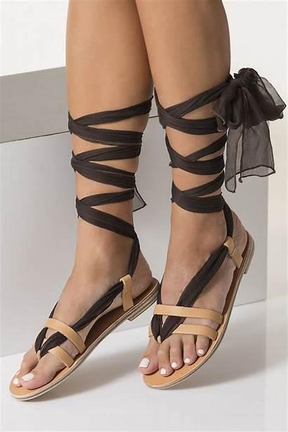 Lace Sandals Laces Greek