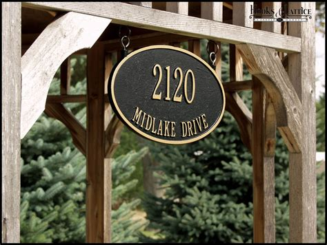 The Best Shape And Style Of Address Plaques For Homes That. Small Animal Stickers. Birth Sign Signs Of Stroke. Military Style Decals. Gradient Banners. Aftican Murals. Engraved Banners. Kindergarden Murals. Copic Ciao Lettering