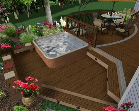 decking   build  freestanding deck   outdoor