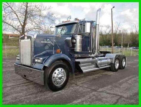 kenworth truck specs kenworth w900 ext day cab heavy haul specs w warranty