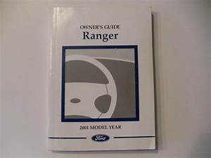 2001 Ford Ranger Owners Manual Book