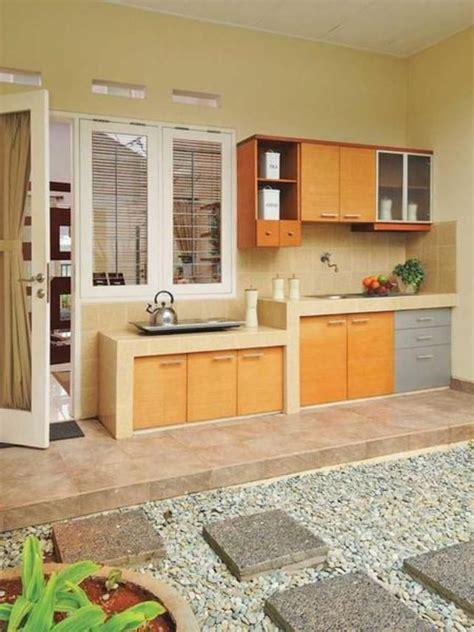 serunya dapur outdoor kitchen   kitchen decor