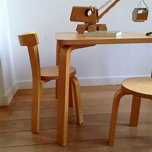 Chaise Et Table Enfant : table chaise et tabouret enfant la aalto la maison bruxelloise ~ Teatrodelosmanantiales.com Idées de Décoration