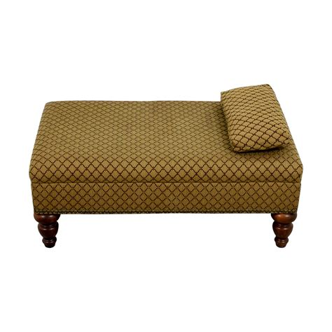 what is an ottoman used for 90 off custom transitional brown ottoman chairs