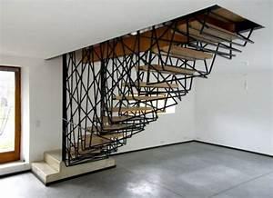 Escalier Design Metal Obasinc