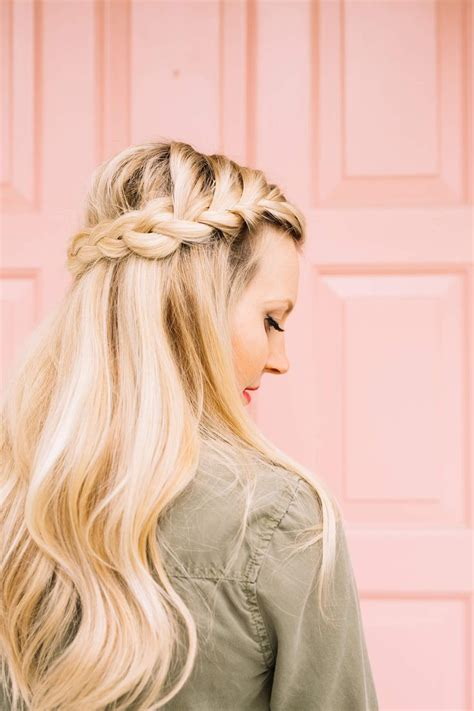 best 25 half french braids ideas on pinterest french
